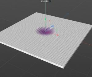 C4D新功能域模仿水波纹效果大揭秘