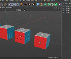 C4D小技能系列:复杂层叠物体的快速展开