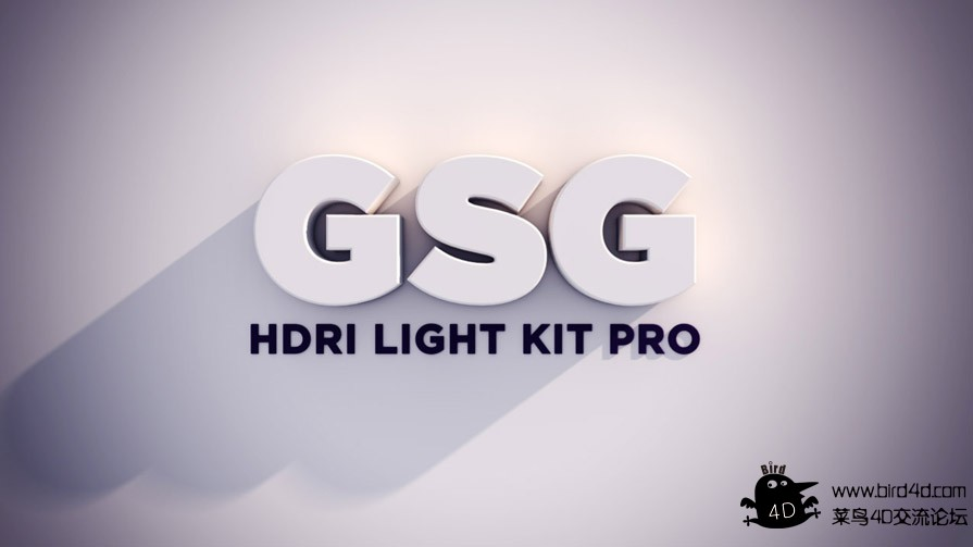 C4D预设 GSG Light Kit Pro 2.0 for Cinema 4D 灯光预设