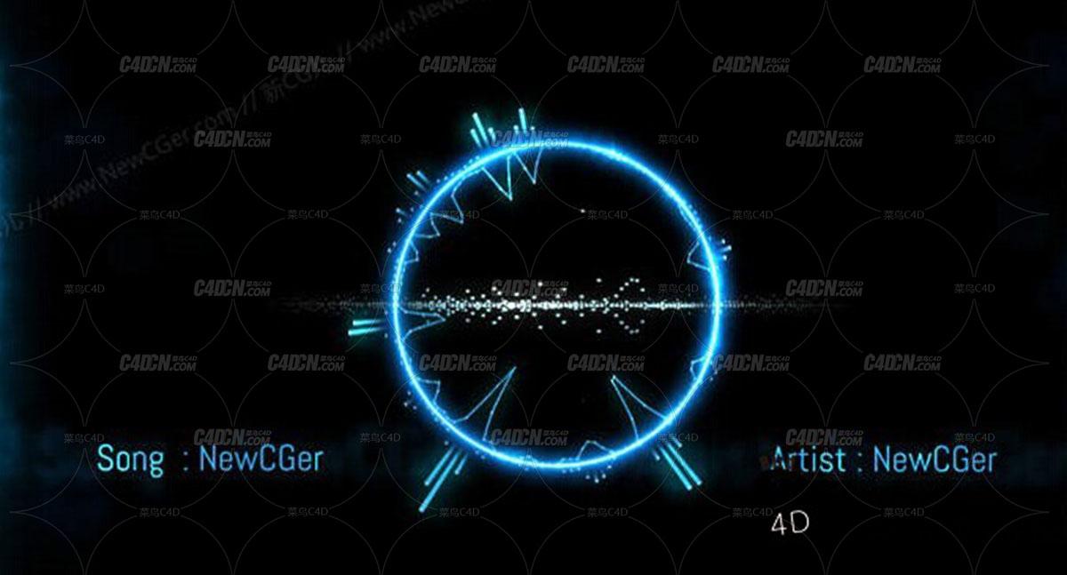 用AE制作随音而动的音频曲线动画,含音效 Audio React v2.0
