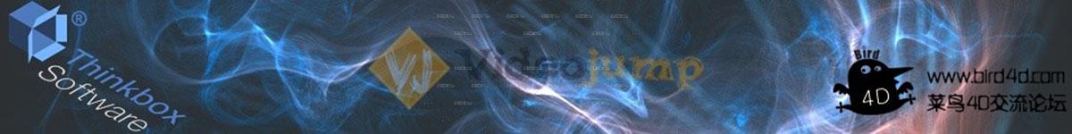 C4D插件 Thinkbox Krakatoa 粒子渲染器v2.3.1汉化版