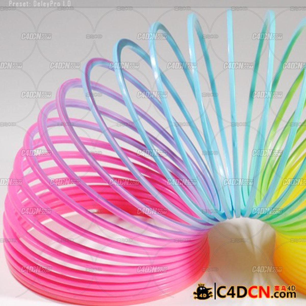 C4D延遲效果腳本預設專業漢化版XPS DelayPro