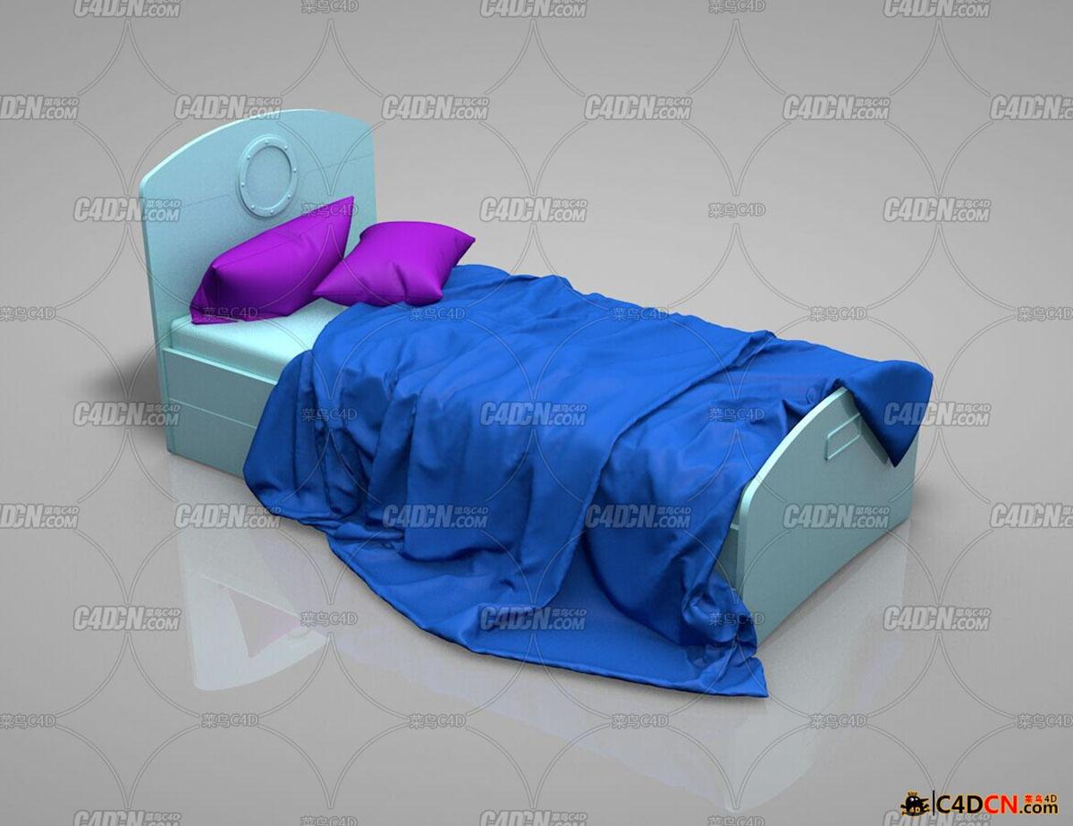 床品模型一套