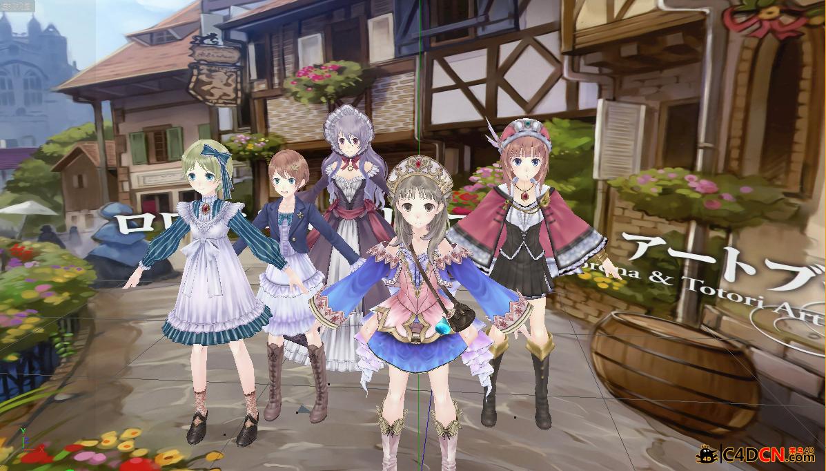 PS3-卖萌妹子的工作室系列合集1allwife