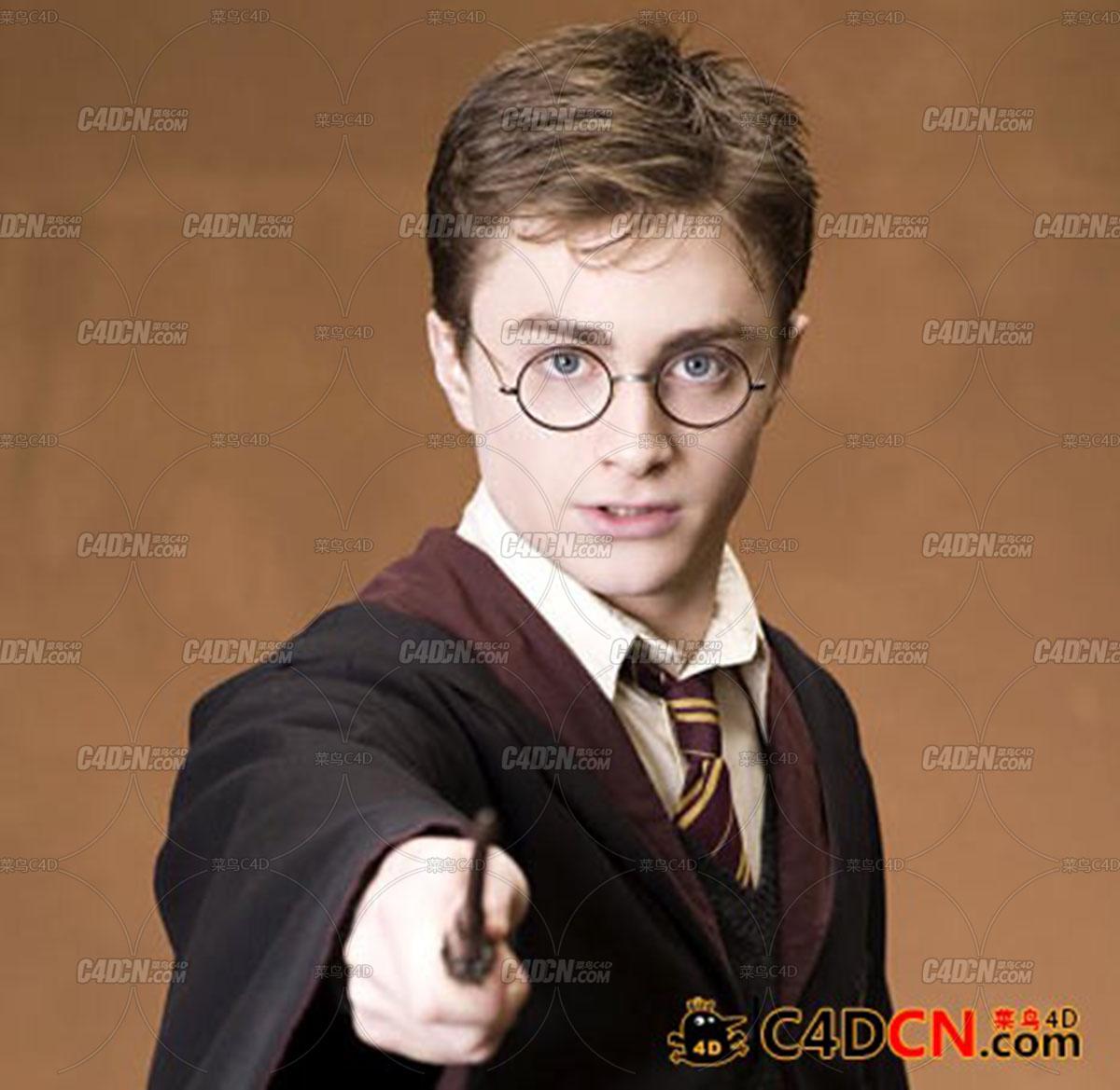 哈利波特人物模型Harry Potter