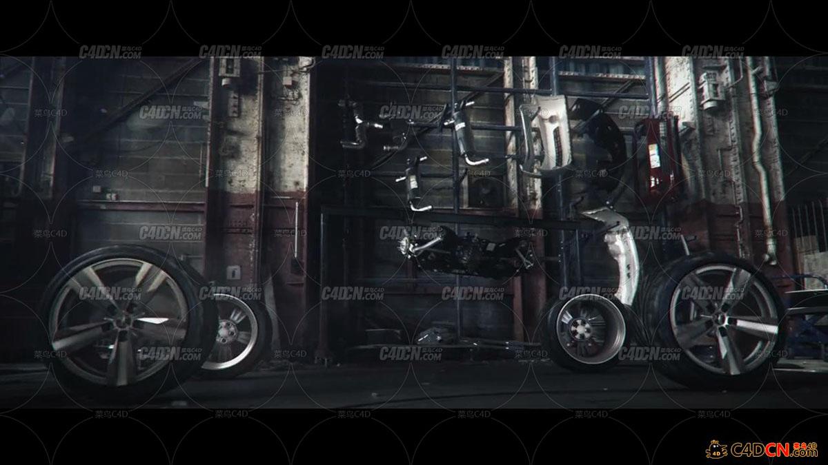 电影级游戏飙车CG宣传动画THE CREW TRAILER