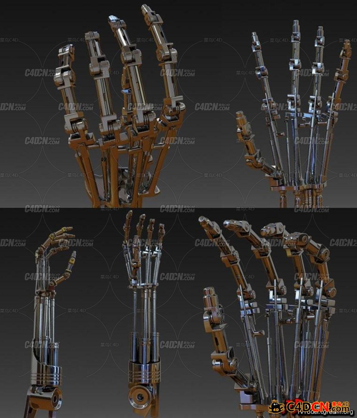 终结者 terminators t-800 Arm 液压机械手臂