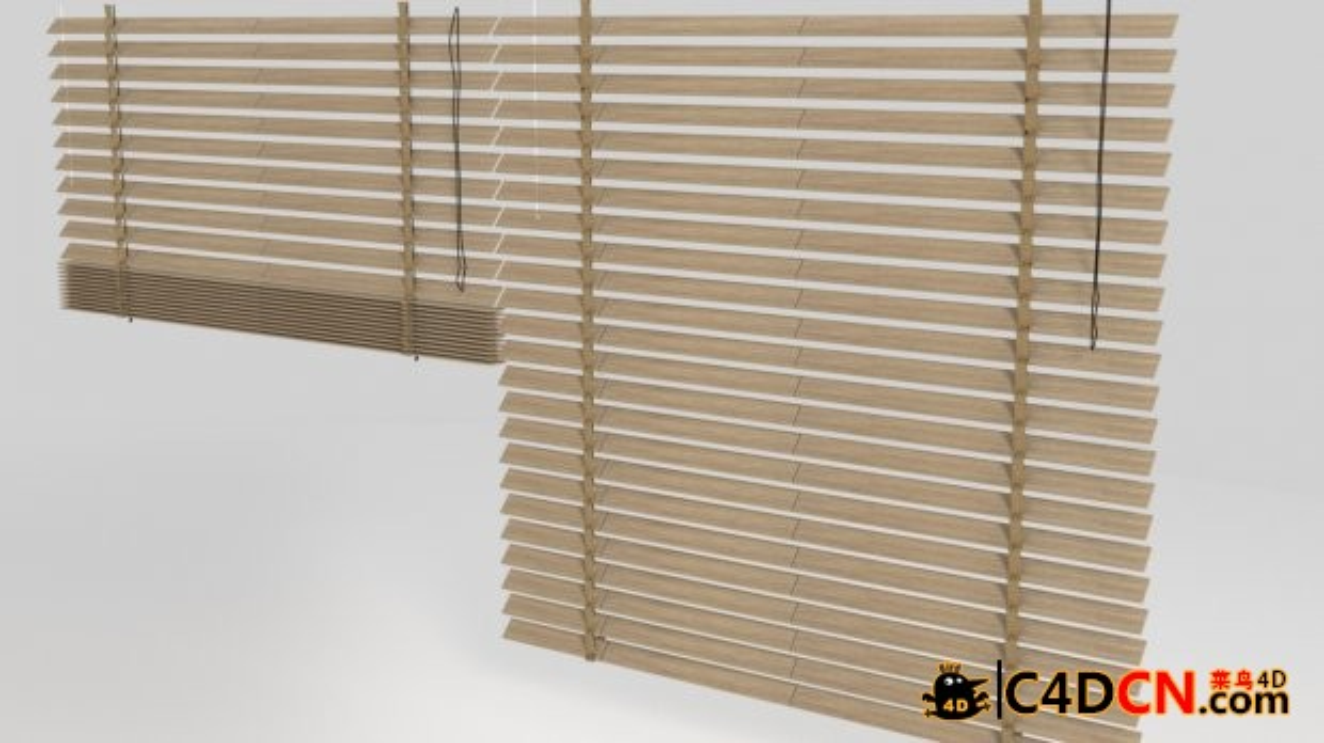 百叶窗模型Window blinds
