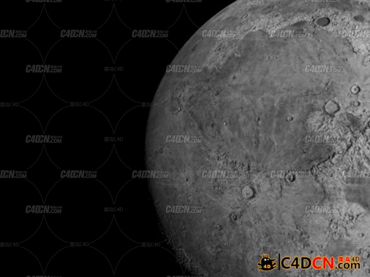 高分辨率月球模型Moon