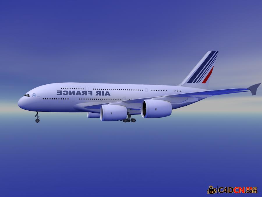 波音A380飞机模型