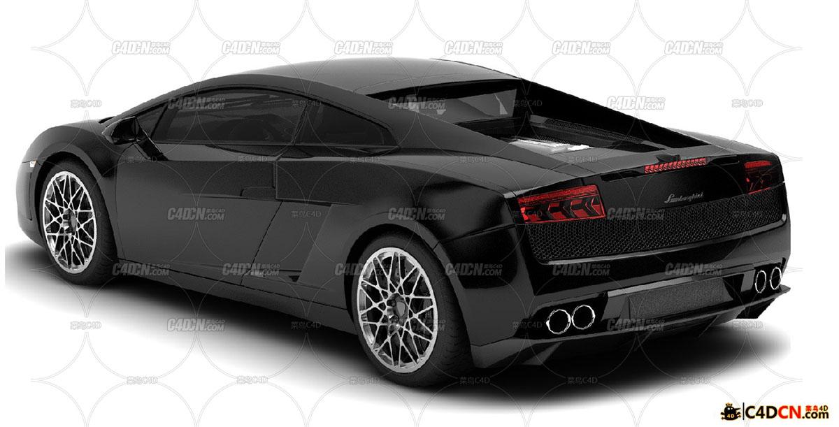 兰博基尼跑车模型Lamborghini Gallardo LP 560-4