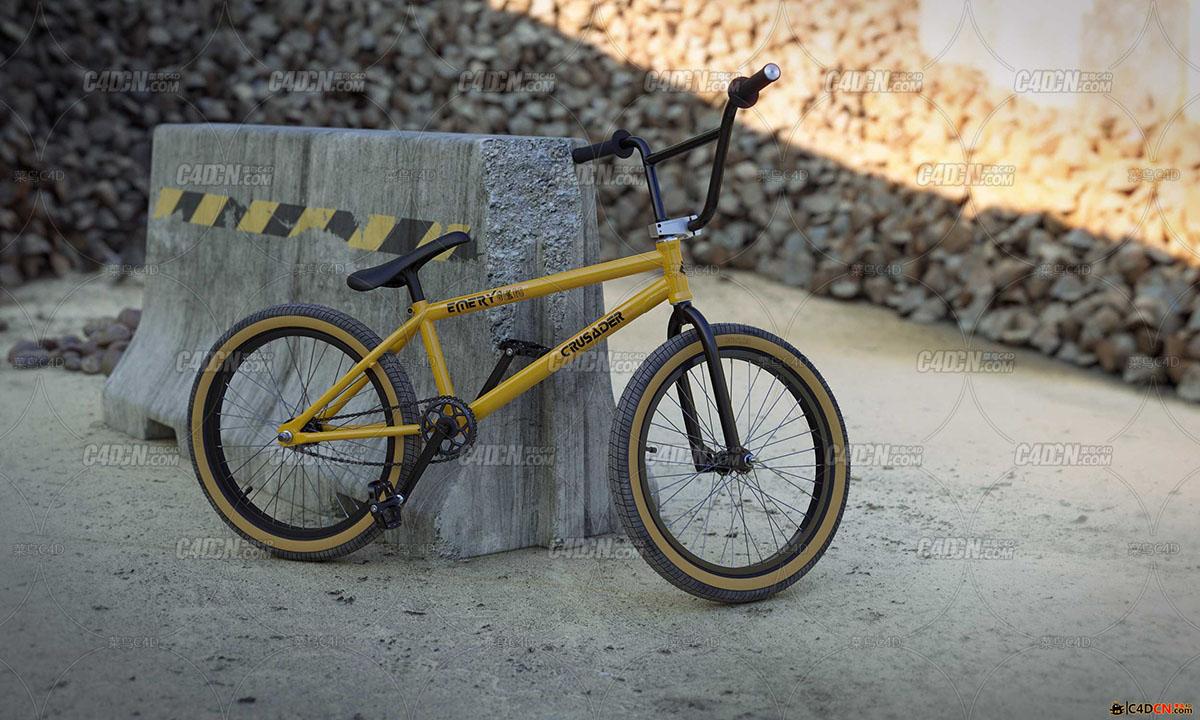 高精度自行车模型High precision bicycle model