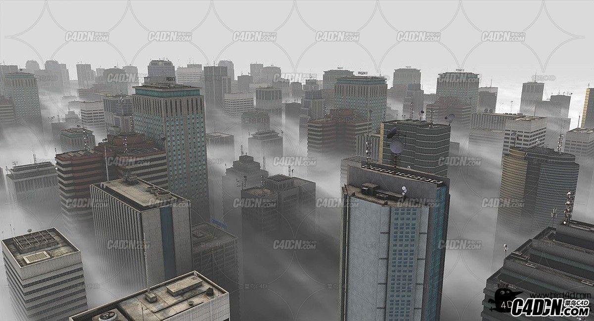 C4D雾霾效果制作解析教程