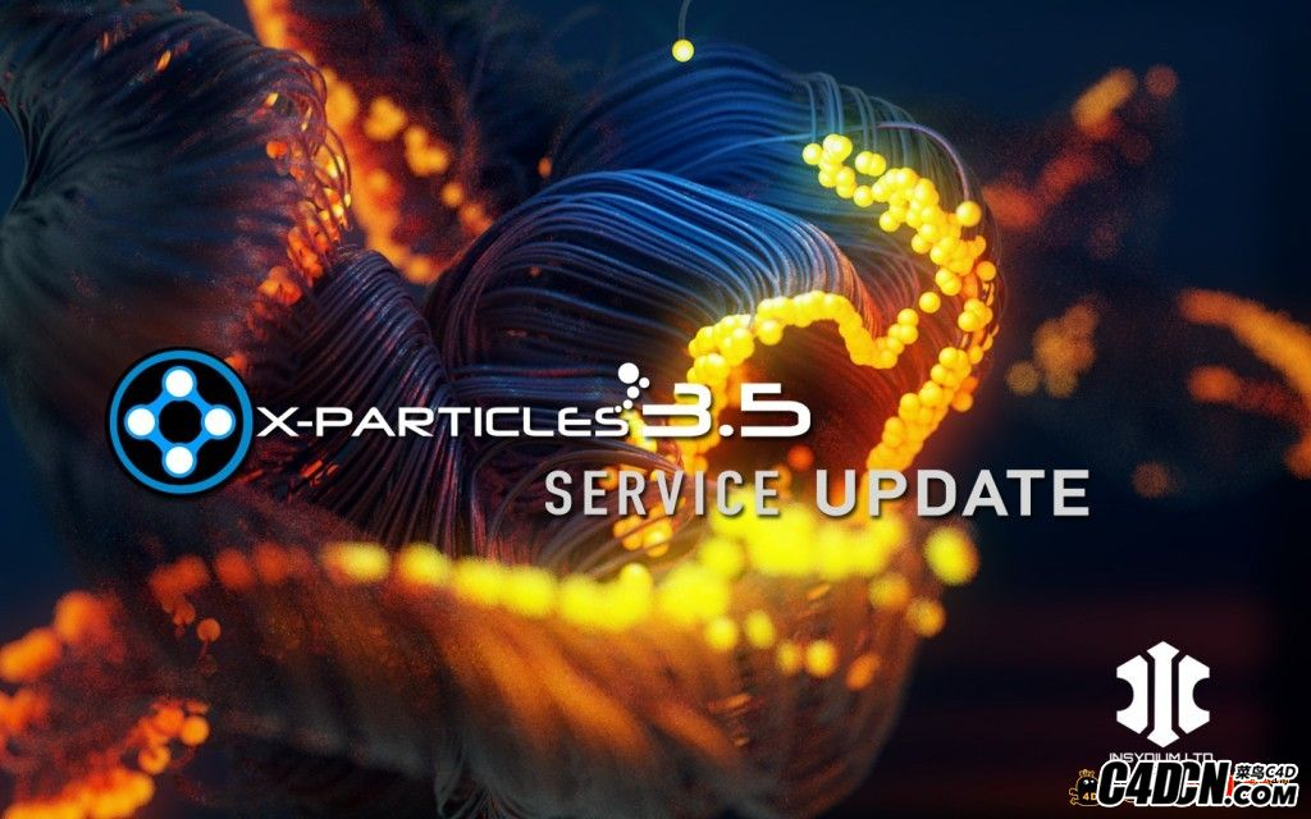 C4D超級粒子插件3.5版本漢化版 X-Particles v3.5
