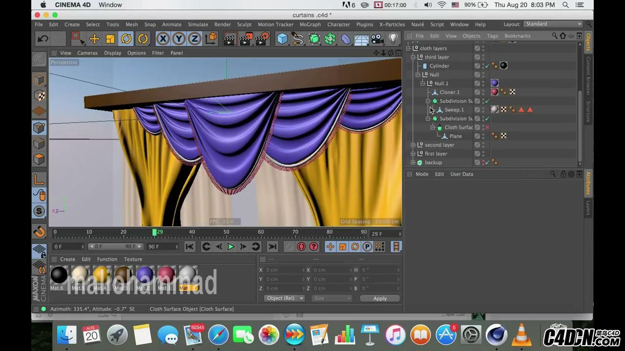 how to make curtain in c4d (silent tip)      _20160922220824.JPG