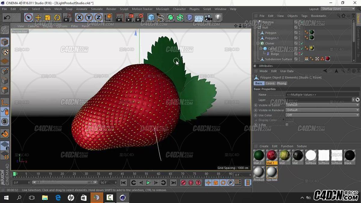 Strawberry tutorial - C4D - Banana dsgn (720p, ENG )_20160922220401.JPG
