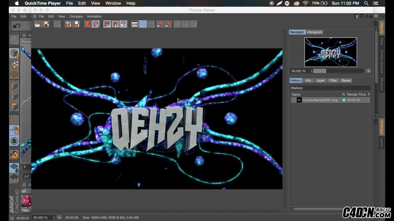 Tutorial- Sick Abstract Text Effect - C4D R17 by Qehzy_20160928223030.JPG