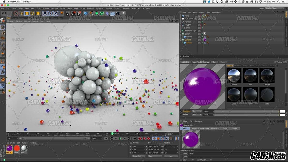 Cinema 4D Tutorial - Build An Animated Dynamic Character In Cinema 4D_20160928220131.JPG
