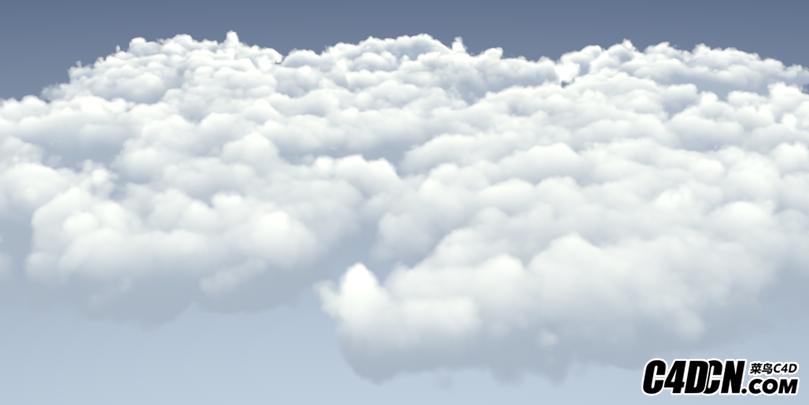 C4D天空云彩工程(无插件)