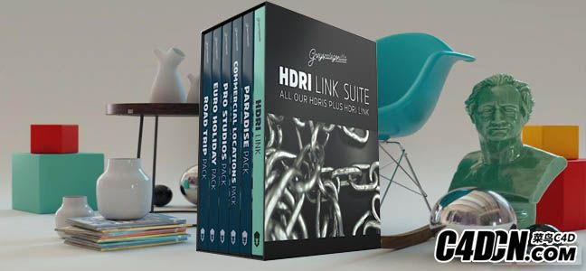 GSG HDRI渲染器链接插件HDRI Link 1.0 for C4D R18 Win