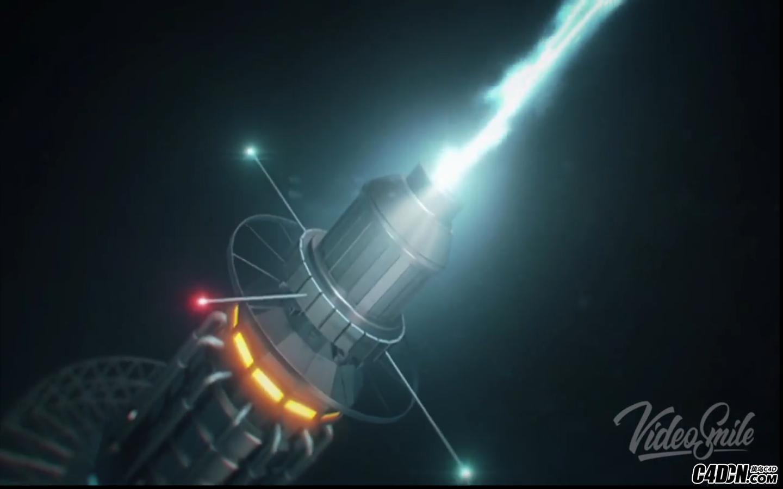 C4D+AE教程——制作科幻電影核磁效應