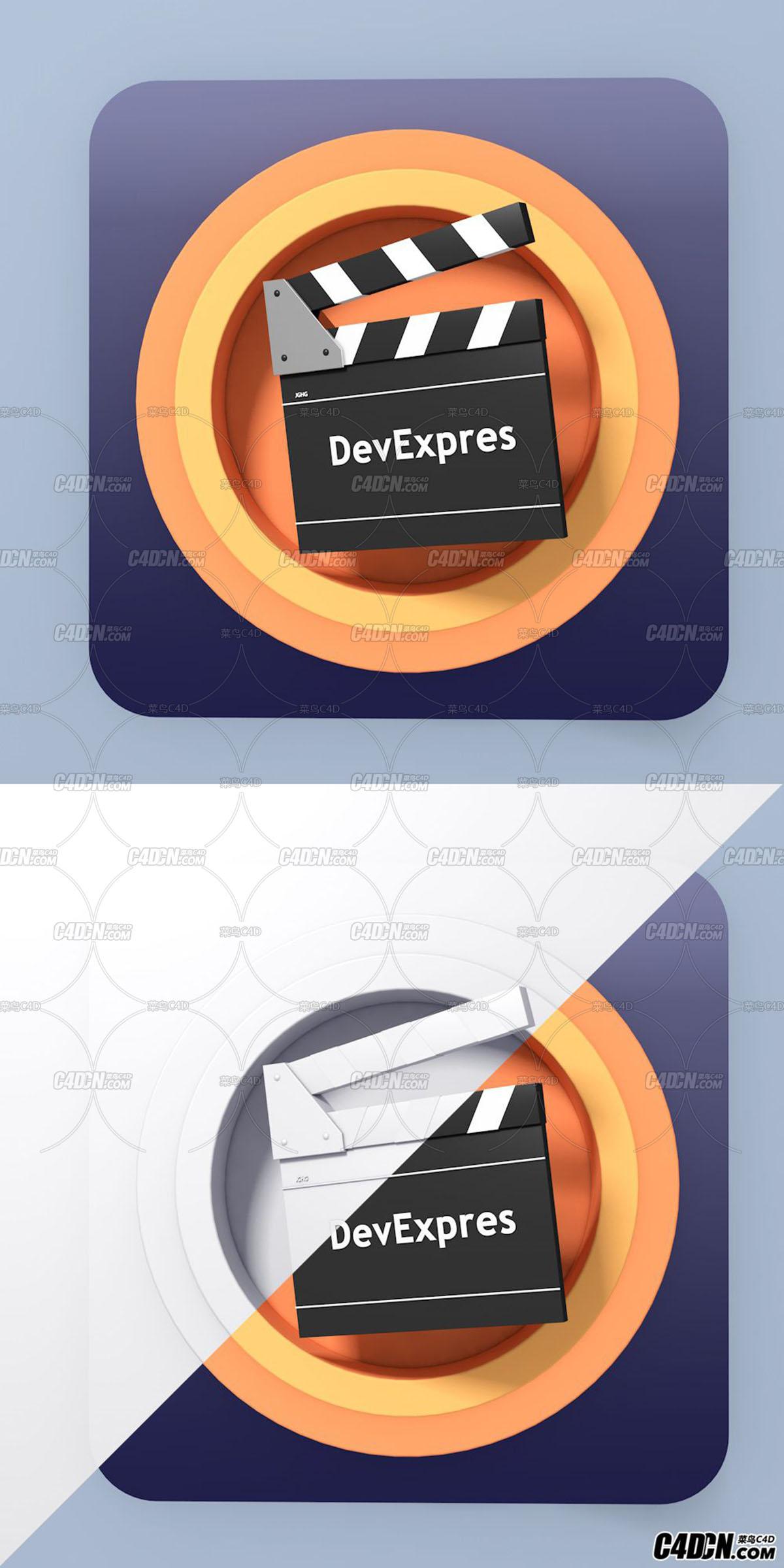 C4D创意UI精品教程