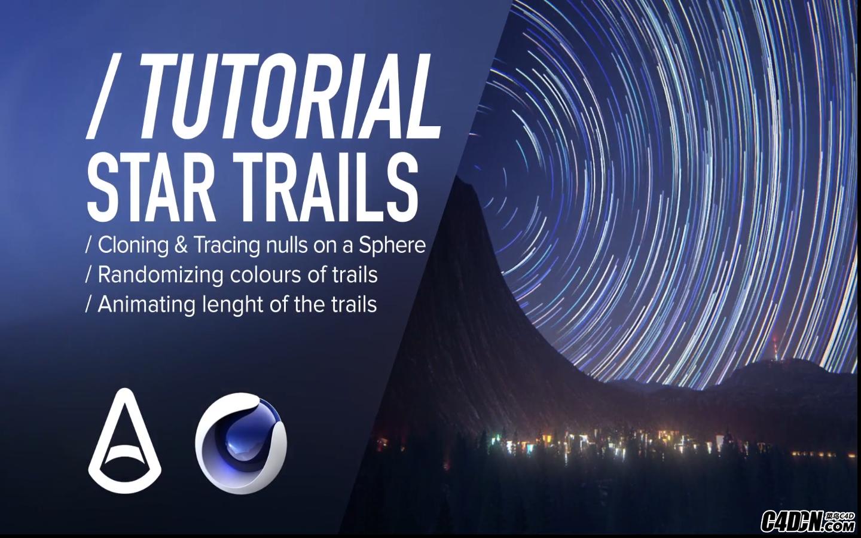 CINEMA 4D教程——利用阿诺德渲染器制作星际轨道动效