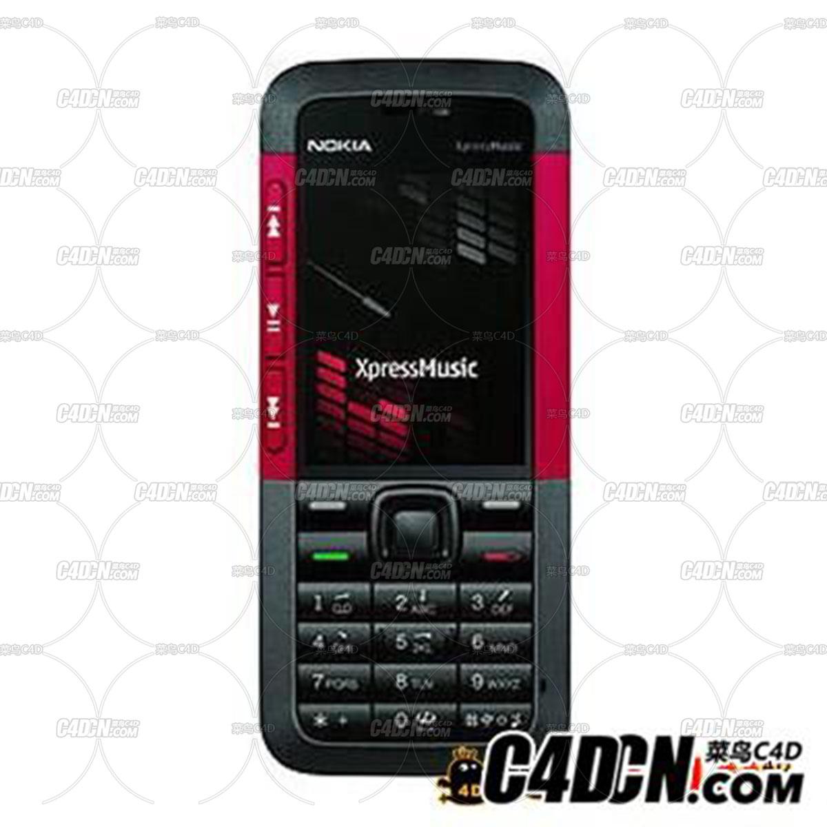 诺基亚5310手机模型