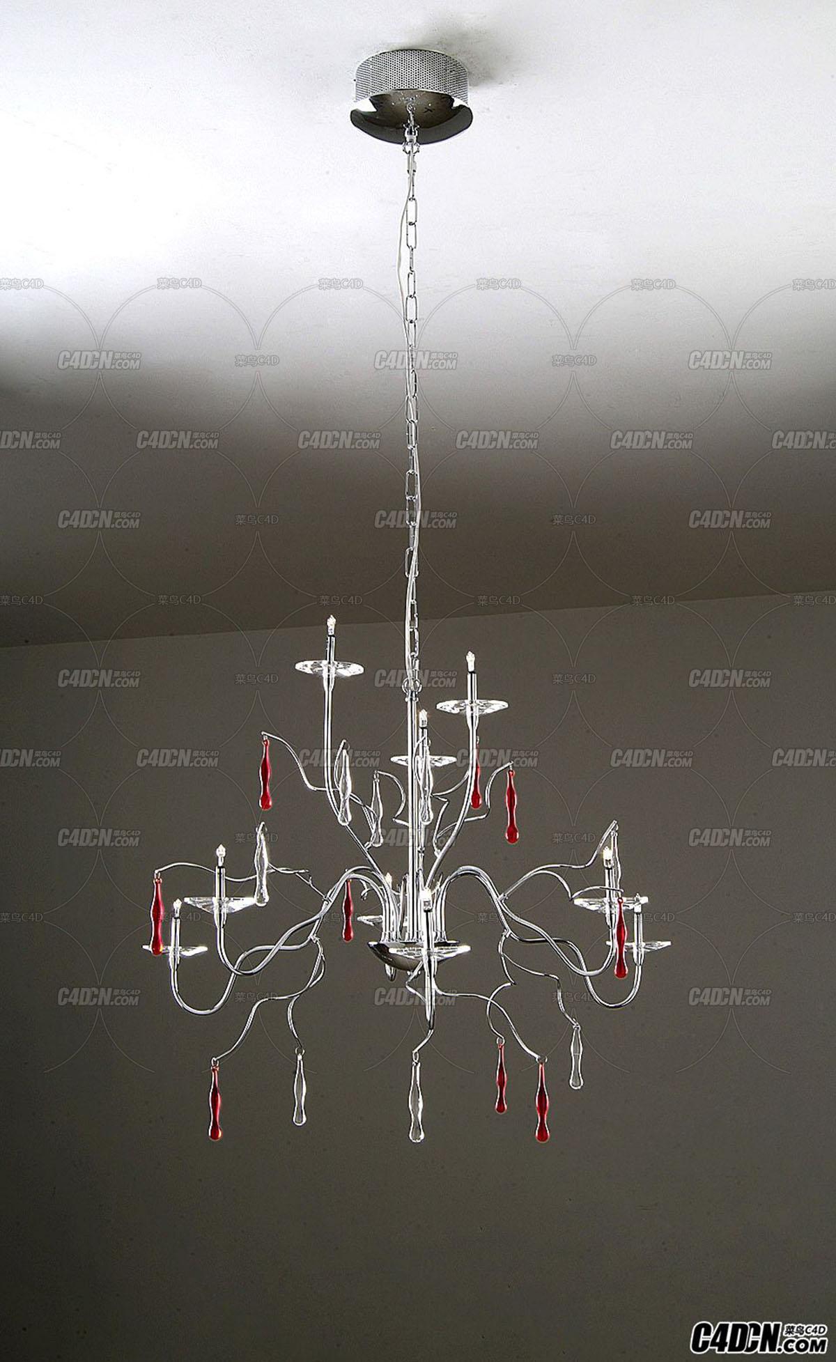 3D模型 现代装饰灯模型 MD6308-9B