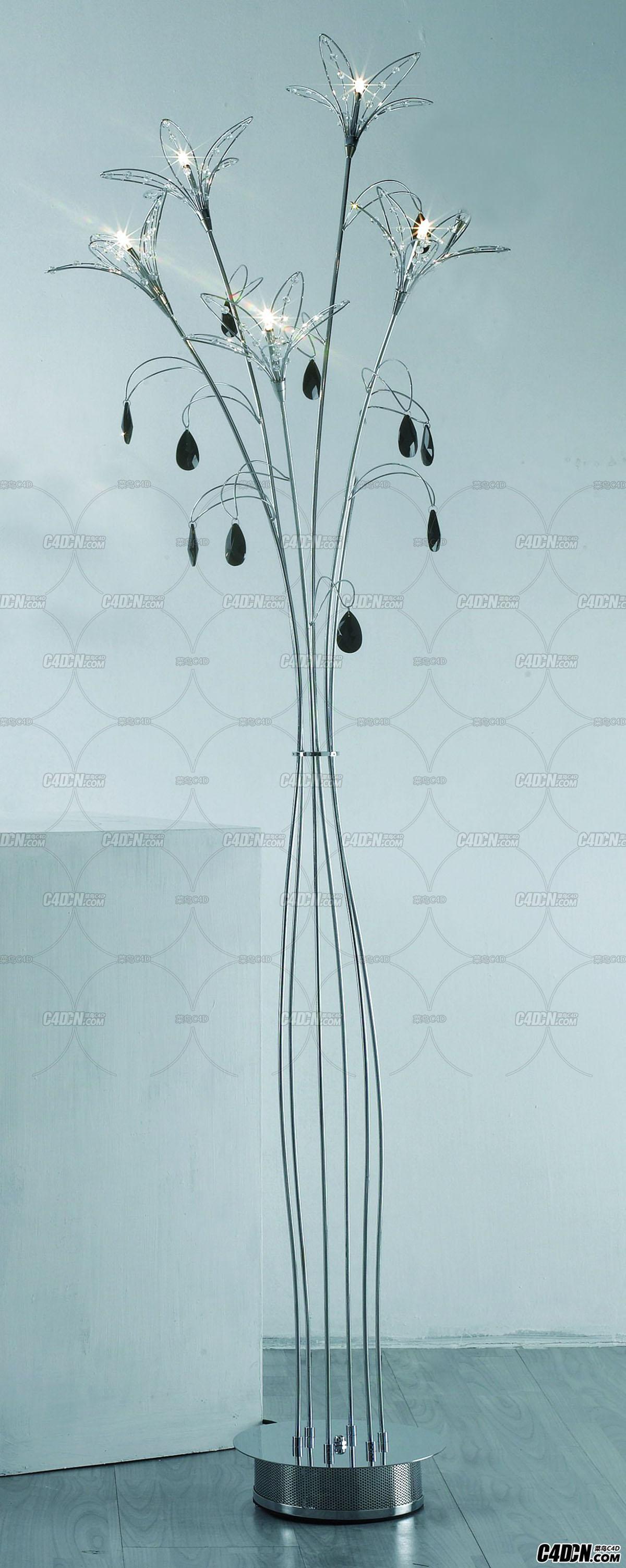 3D模型 现代装饰灯模型 ML61006-5A