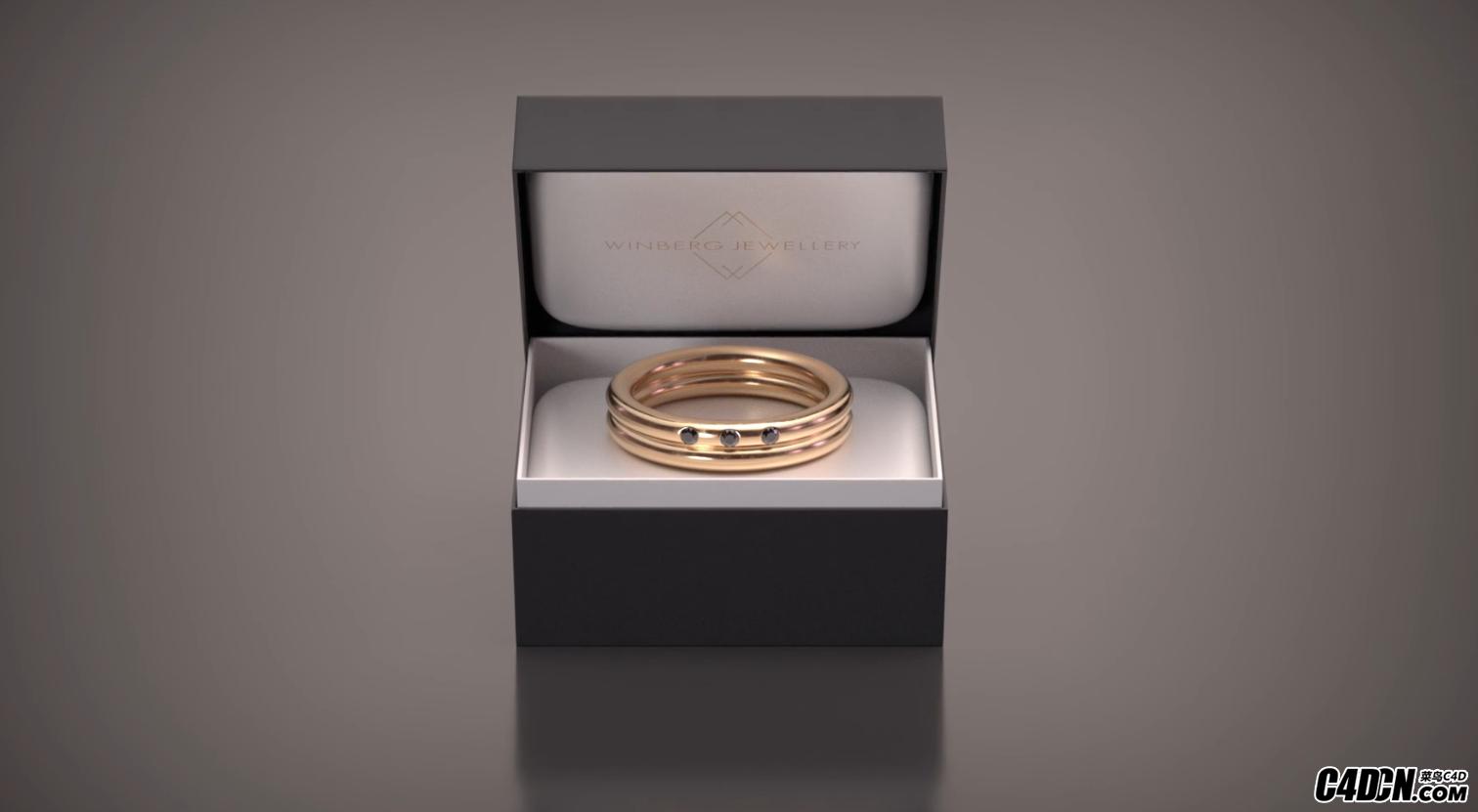 珠宝写实渲染教学3D Jewellery Visualization Tutorial