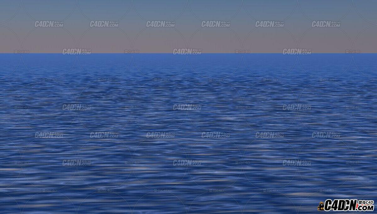 C4D水面工程源文件