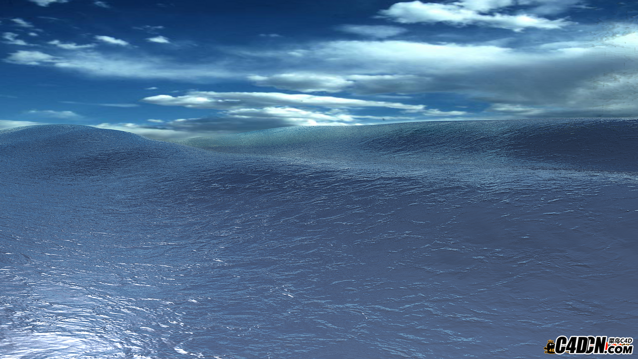 C4D材质 海洋工程含动画