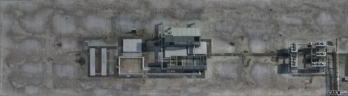 119款航拍屋顶贴图素材