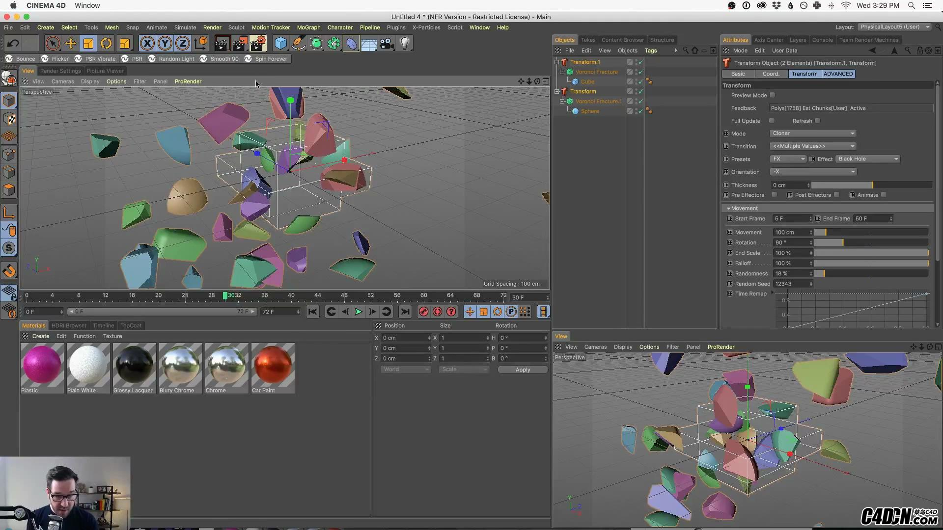 Easily Transform One Object Into Another In Cinema 4D With Transform_20180112021527.JPG