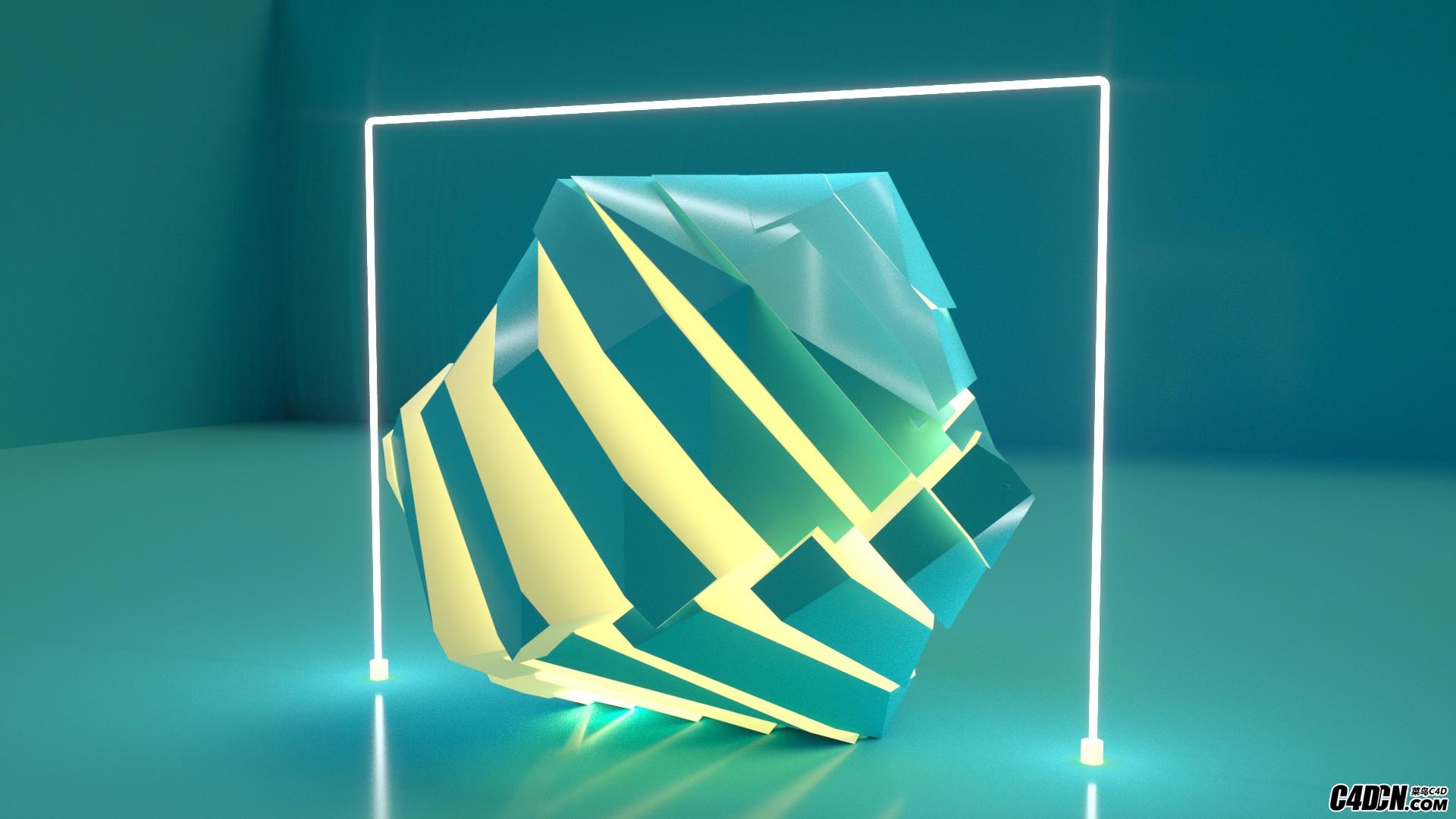 octane-發光材質