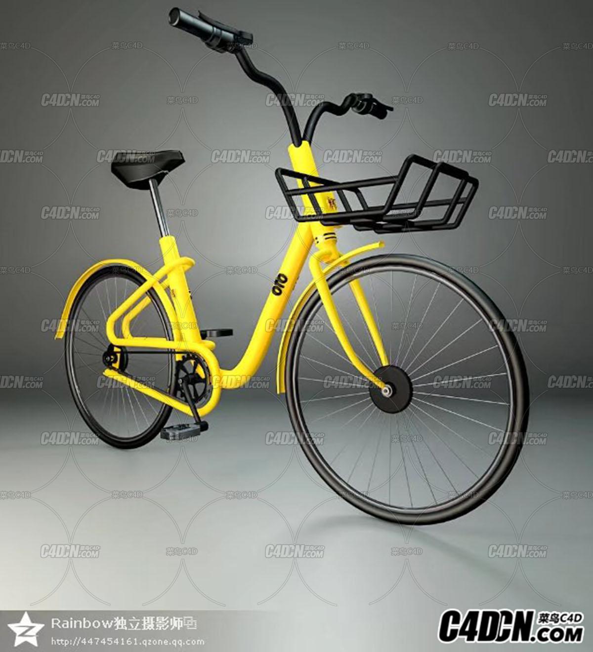 小黄车自画
