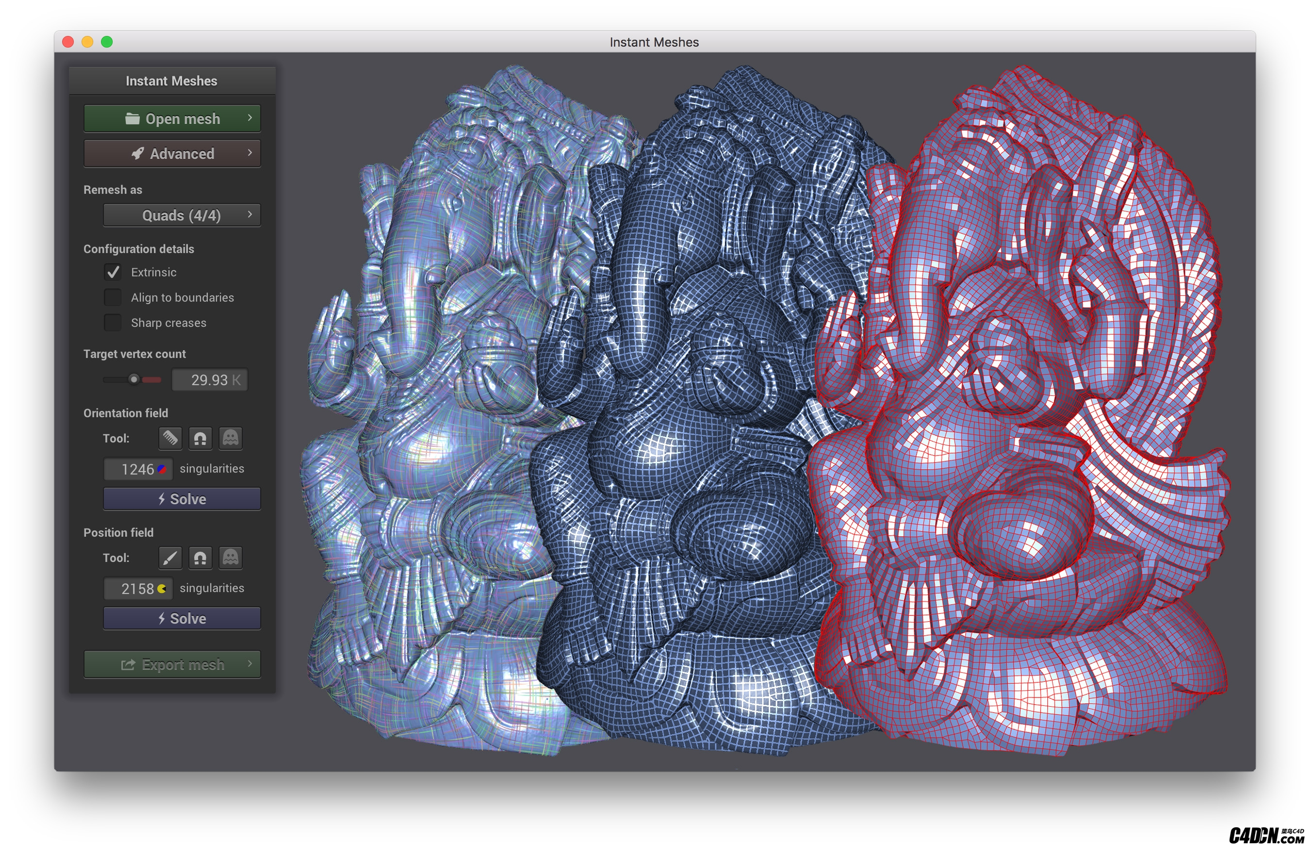 instant-meshes