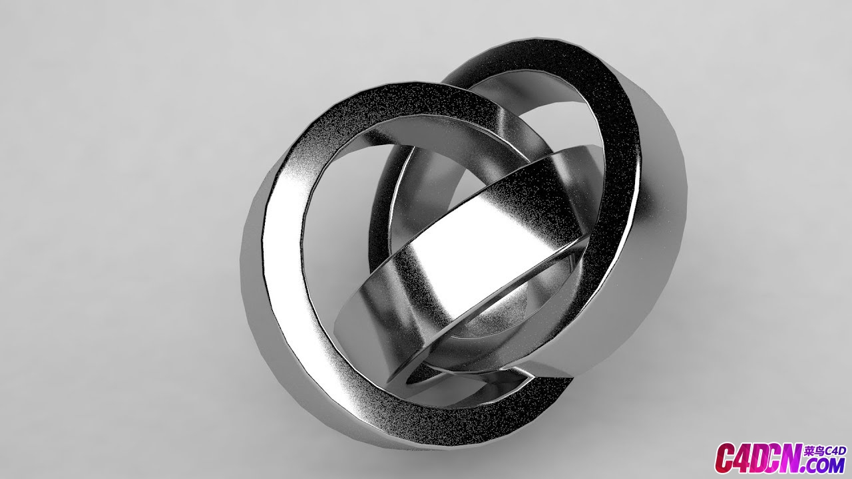 C4D教程 超逼真的不朽感金屬材質渲染教程 Ultra Realistic Metal Material [Tutorial]
