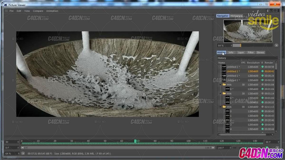 Cinema 4D – Симуляция жидкости в Cinema 4D. [Уроки 3D]_2.jpg