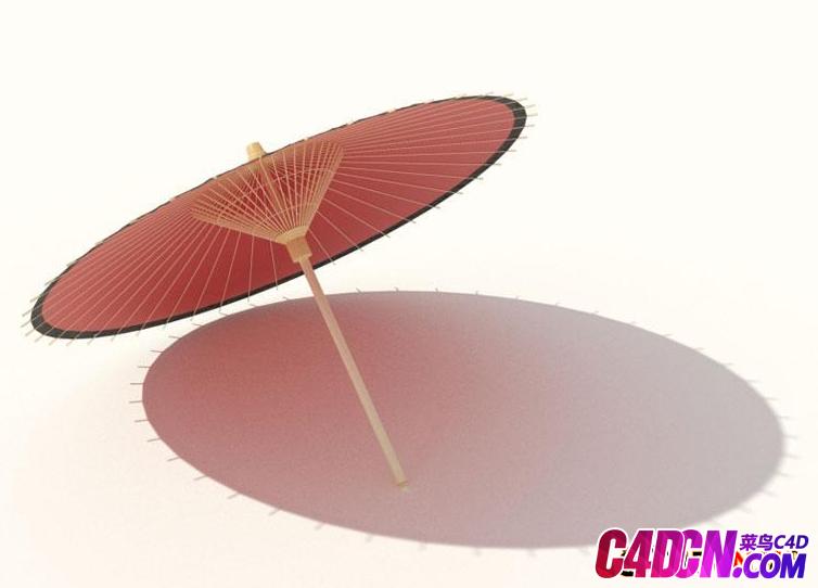 古式雨伞模型Antique umbrella model