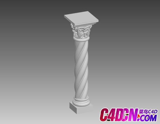 3D罗马柱子模型下载