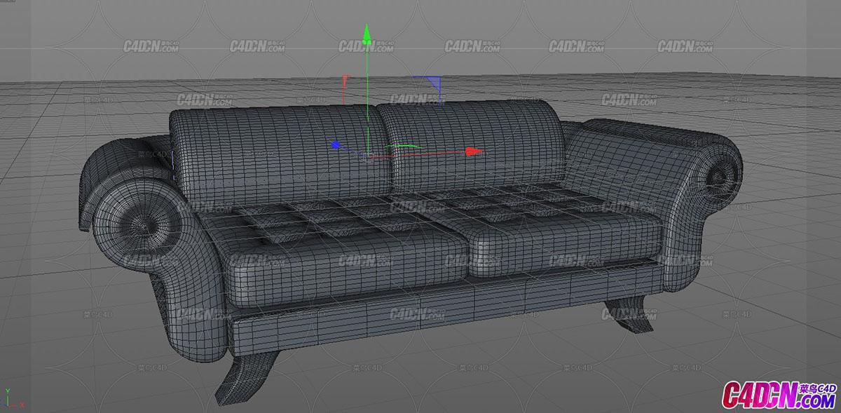 沙發模型沙發墊