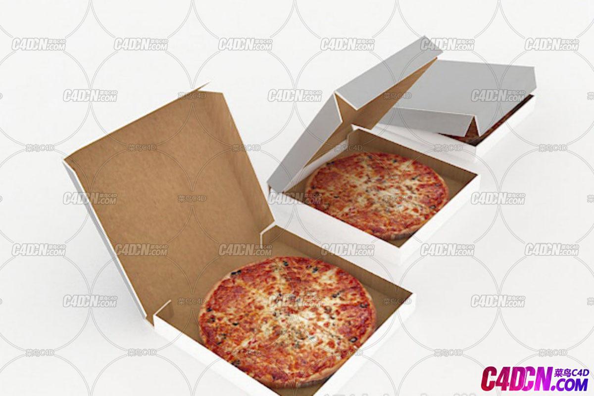 盒装披萨-免费模型