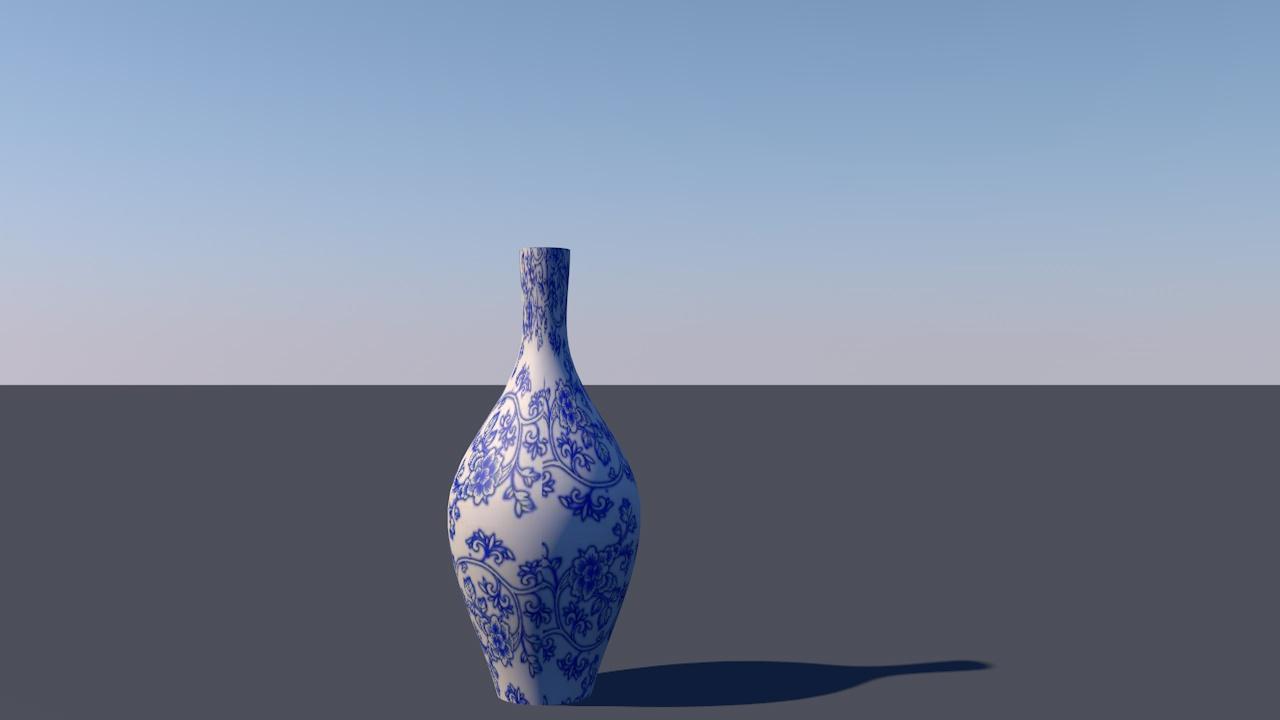 简单建模——青花瓷