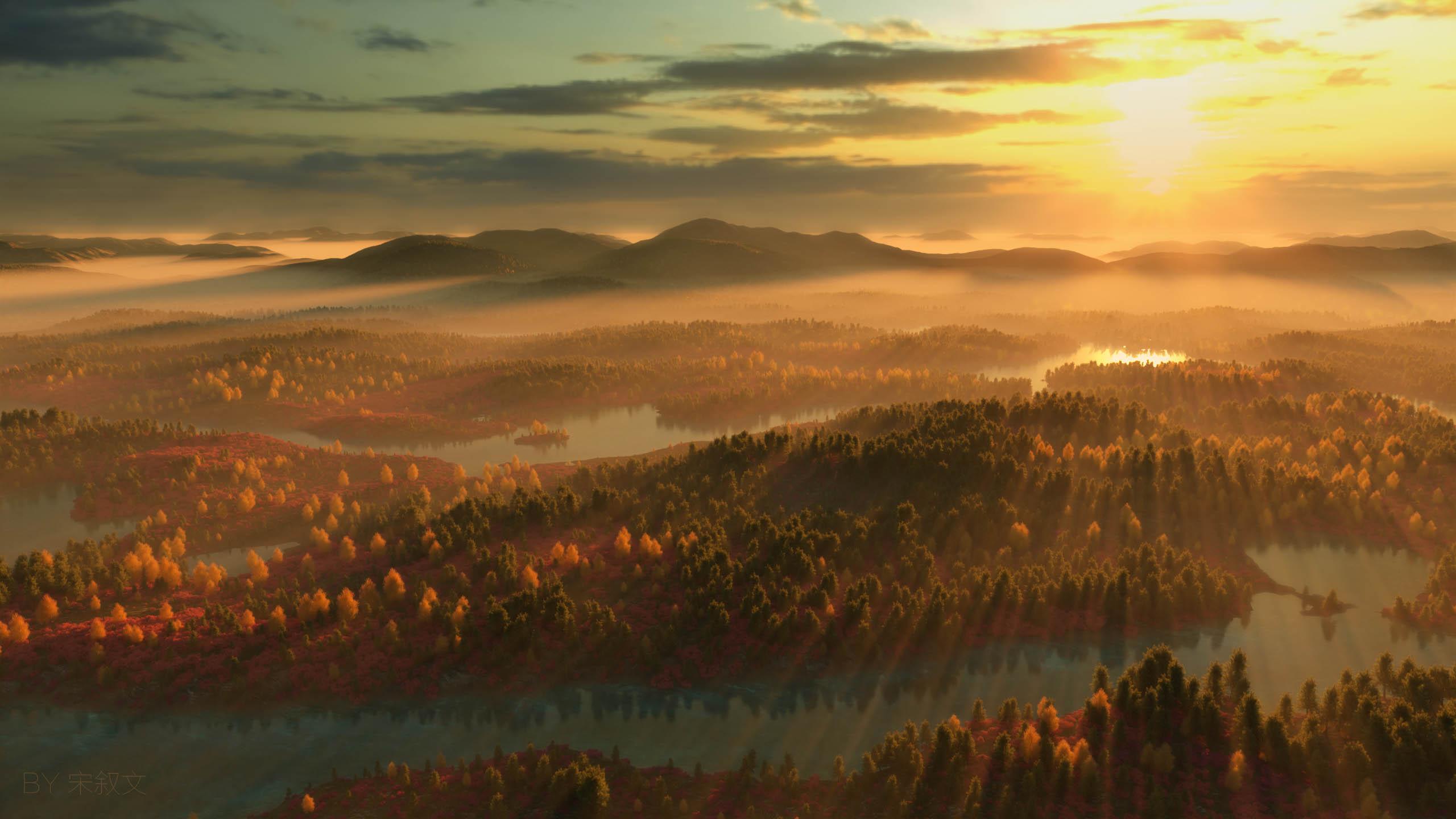 看万山红遍 层林尽染
