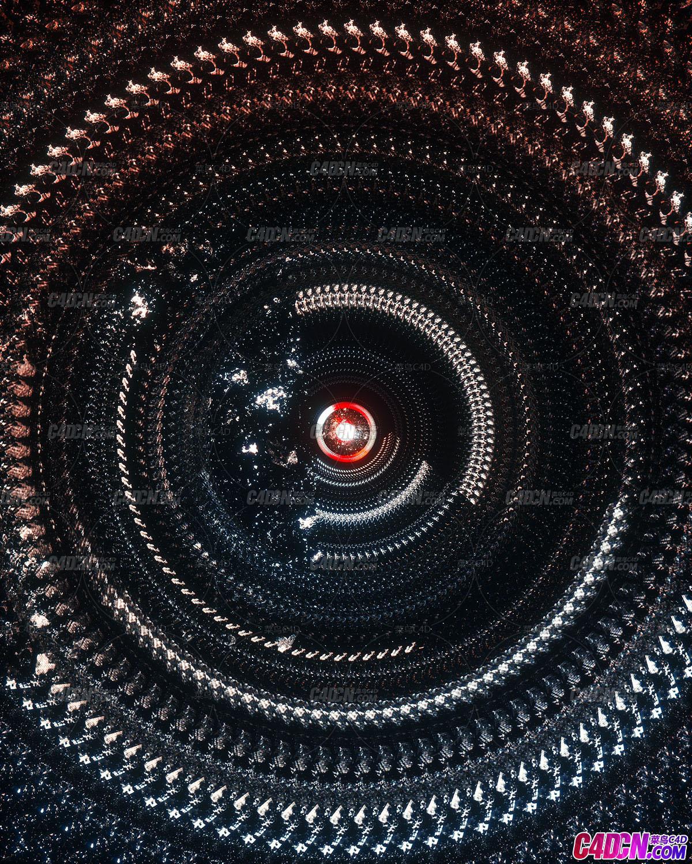 Octane渲染器循环空间工程文件