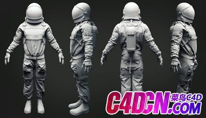 太空宇航员模型