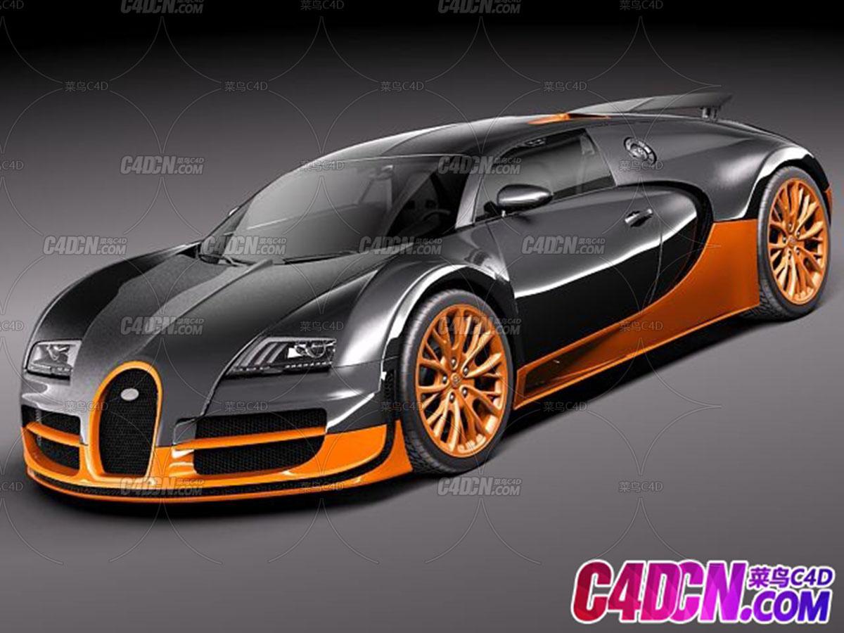 布加迪威龙SS Bugatti Veyron superspoot