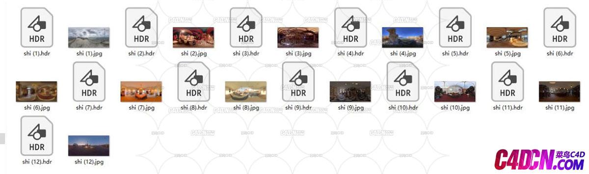 一些比较基础的室内HDR图,分享一下